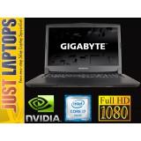 "Gigabyte P57X v6 17.3"" 1080p IPS Intel i7-6700HQ 16GB 256GB SSD+1TB GTX1070 8GB"