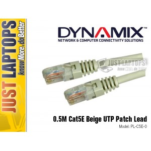 DYNAMIX 0.5M Cat5E Purple UTP Patch Lead