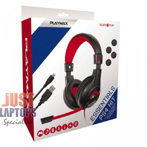 Playmax Essential Pack For PS4 - (3 Items inside)
