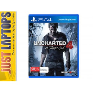 PS4 Game Uncharted 4 - A Thief's End [MUST PLAY]