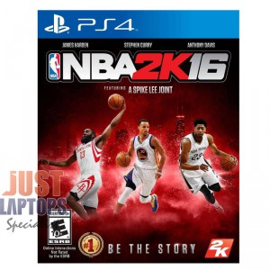 Playstation 4 Game - NBA 2K16 100% Brand New for PS4