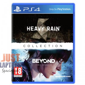 Heavy Rain & Beyond Two Souls Collection For PS4 [Brand NEW]