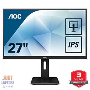 """AOC Q27P1 27"""" 2560x1440 QHD IPS LED Monitor"""