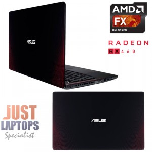 "ASUS GAMING LAPTOP R510IU 15.6""FHD FX9830P QUAD CORE 12GB RAM 500G HDD RX460"
