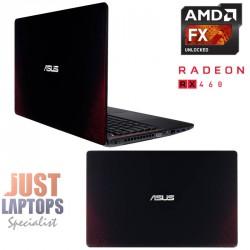 "GAMING ASUS LAPTOP R510IU 15.6""FHD FX9830P 12GB 128G SSD+500G HDD RADEON RX460"