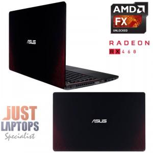 "ASUS R510IU 15.6""FHD FX9830P QUAD CORE 12GB DDR4 RAM 128GB SSD+1TB RADEON RX460"