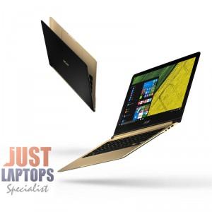 """Acer Swift 7 13.3"""" Intel 7th Gen i7-7Y75 8GB 512GB SSD W10Pro Only 9.98mm 1.1kg"""