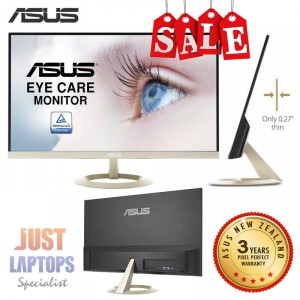 """ASUS VZ27AQ 27"""" WQHD 2560x1440 IPS Ultra-slim Frameless Flicker Free Monitor"""