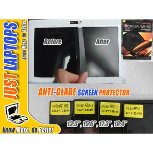 "Anti-Glare Screen Protector for 17.3"" Laptops LCDs"