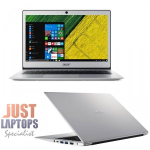 Acer Ultrabook 13.3 Swift 1  Intel N3350 Upto 2.4Ghz Dual Core 4GB 128GB SSD FHD