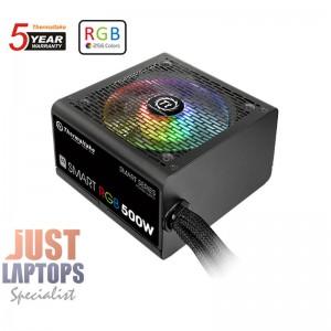 ThermalTake Smart RGB 500W Power Supply 80 PLUS Certified - MEPS Ready