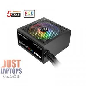 ThermalTake Smart RGB 600W Power Supply 80 PLUS Certified - MEPS Ready