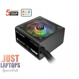 ThermalTake Smart RGB 700W Power Supply 80 PLUS Certified - MEPS Ready