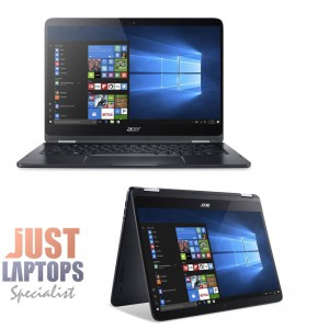 Acer Spin 7 SP714-51-M6XU 14 Inch FHD Flip&Touch i7-7Y75 8GB Ram 256GB SSD