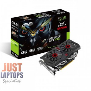 ASUS Strix GTX1060 DC26G 6GB GDDR5 PCIe Video Card - Dual Fan Version
