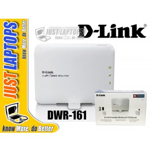 D-LinkDWR-161 3G/4G Portable Wireless N 150 Router