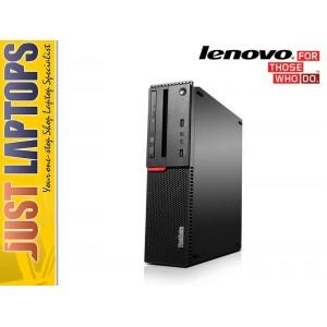 Lenovo ThinkCentre M900 SFF PC Intel i5-6600, 8GB DDR4 128GB SSD, DVD GT720