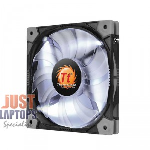 120mm ThermalTake Luna LED Case Fan (White)