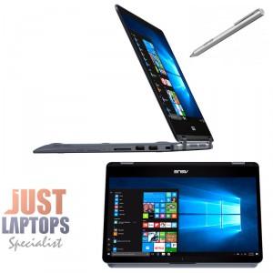 ASUS Vivobook Flip 14(TP410) Touch&Flip w/ Stylus I7-7500U 8GB 256GB SSD GT930MX