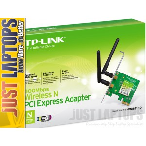 300Mbps Wireless N PCI Express Adapter TL-WN881ND