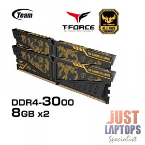 TEAM VULCAN TUF Gaming Alliance 16GB(2x8GB) DDR4-3000Mhz Gaming Memory