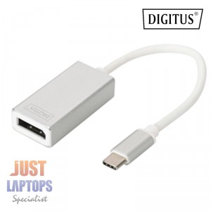Digitus USB Type-C (Male) to DisplayPort (Female) Adapter Cable