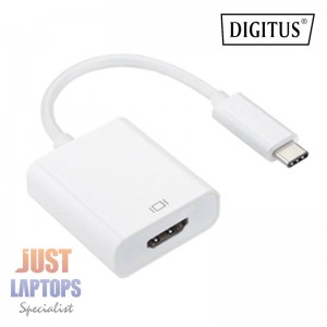 Digitus USB Type C (M) to HDMI (F) Adapter Cable