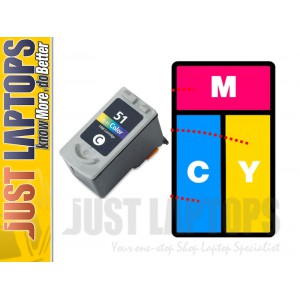 Ink Cartridges Inkjet CL51 for Brother Printer