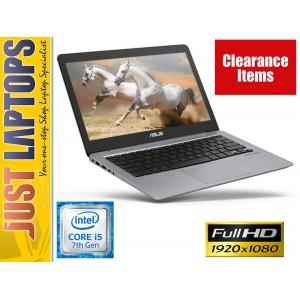 ASUS ZENBOOK UX310 KABYLAKE 7TH GEN CORE I5-7200U 8GB 256GB SSD FHD WIN10 HDMI