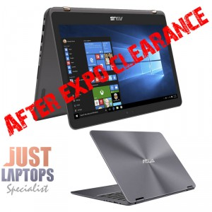 "ASUS ZENBOOK UX360 13.3"" FLIP TOUCH FHD IPS I7-7500U 8GB 512GB SSD SPACE GREY"