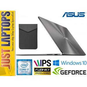 ASUS Zenbook UX430UQ 7th Gen Kabylake I7-7500U 8GB Ram 256GB SSD GT940MX FHD IPS