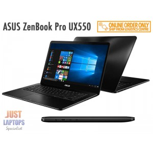 *NEW* ASUS ZenBook Pro UX550 Black i7-7700HQ 16GB RAM 512GB SSD GTX1050