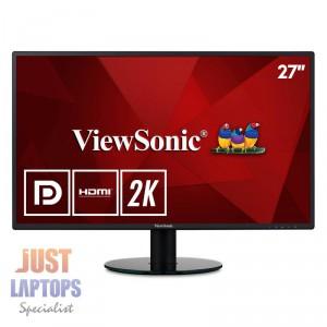 """Viewsonic VA2719-2K 27"""" 2K WQHD 2560 x 1440 IPS LED Monitor HDMI DisplayPort"""