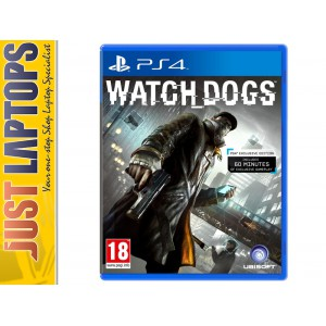 Playstation 4 Game - Watch Dogs [New]