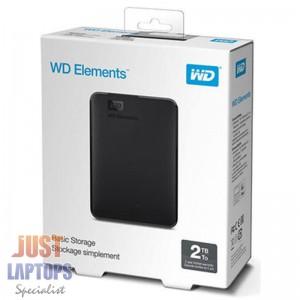 WD Elements 2TB USB 3.0 Portable External Hard Drive