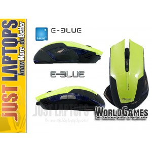 E-BLUE Gaming Mouse Mazer Type-R Green
