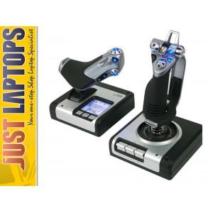 Saitek X52 Flight Control - Joystick & Throttle