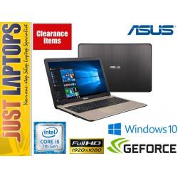 ASUS ViVoBook X541UJ-DM309T 15.6inch i5-7200U 8GB 256GB GT920 Laptop with Win 10