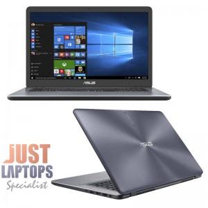 """ASUS X705MA-BX027T Affordable 17.3"""" Intel N4000 4GB Ram 256GB SSD 1600x900 WIN10"""