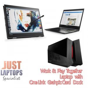 Lenovo ThinkPad X1 Yoga G2 + Gaming GPU docking Bundle