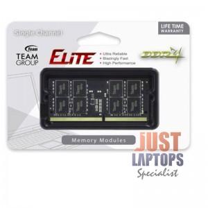 LAPTOP RAM DDR4 8GB - TEAM ELITE 8GB 2400 RAMSO-D4 CL16-16-16-39 1.2V SODIMM