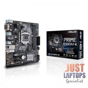 Motherboard ASUS Prime B360M-K Motherboard, Socket 1151 v2, Intel B360, M-ATX