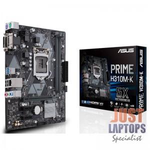 Motherboard ASUS Prime H310M-K Motherboard, Socket 1151 v2, Intel H310, M-ATX