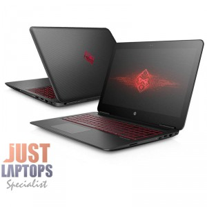 HP Omen 15 Intel Core  I7-7700HQ 12GB Ram 240G SSD + 1TB GTX1050Ti 4GB FHD WIN10