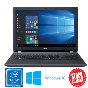 Acer ES1-531 Home Notebook 15.6 Inch Quad Core Pentium N3700 2.4Ghz 8GB 240G SSD