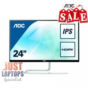 "AOC I2481FXH (24"")23.8"" Ultra Slim Narrow Edge FHD IPS Monitor Infinity Glasss"