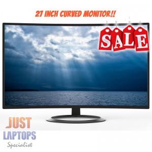 "Konic 27"" Full HD 1920x1080 Curved LED Monitor - 2 Years Warranty"