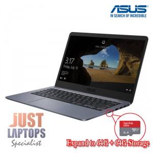 Student Laptop ASUS Vivobook E406SA Grey 14 Intel 4GB 128G total Storage W10