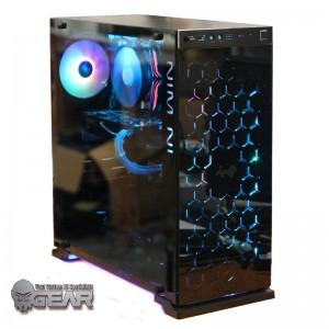 GAMING PC Inwin Star Dome AMD Ryzen 5 2600 16GB DDR4 GTX1070 8GB GDDR5